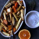 Zimsko povrće pečeno s medom