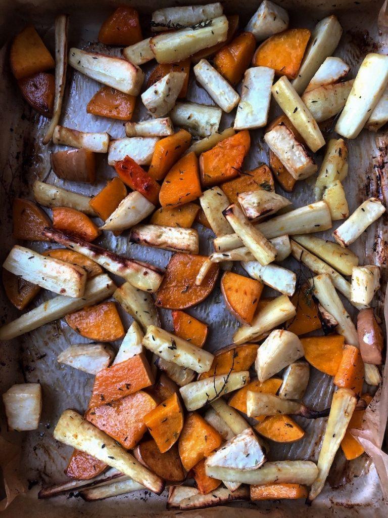 Pečeno povrće sa medom i pomorandžom