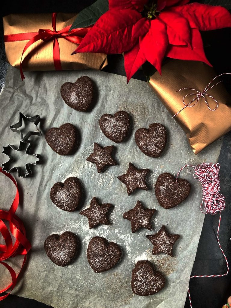 Švajcarski čokoladni keksići (Basler Brunsli)