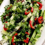Salata od svežeg krastavca i maka