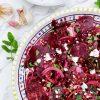 Salata sa cveklom, sočivom i fetom
