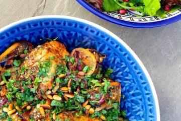 Egzotična pečena piletina