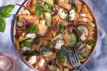 Salata sa dinjom i krastavcima