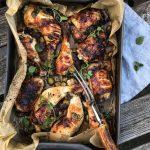 Pečena piletina sa maslinama i urmama 2