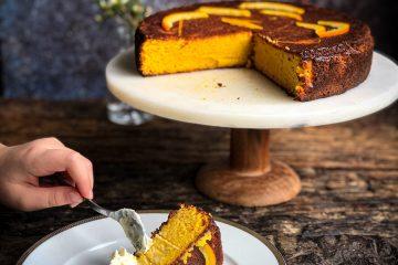 Torta bez brašna sa pomorandžom i bademima