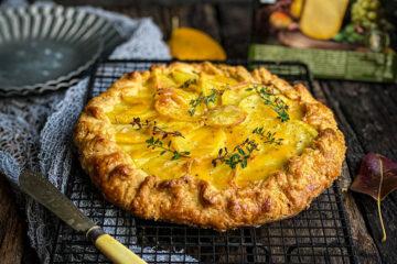 Ovaj slani tart sa krompirom, sirom i prazilukom je divno topao i zasitan, a ne pretežak za Vaš stomak!