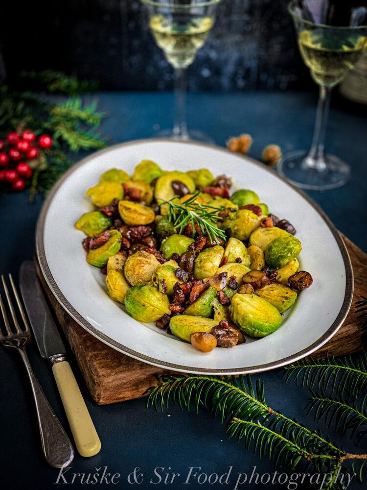 Glazirani prokelj sa kestenjem i pančetom možete jesti kao praznični ručak ili večeru, kako Vam drago!