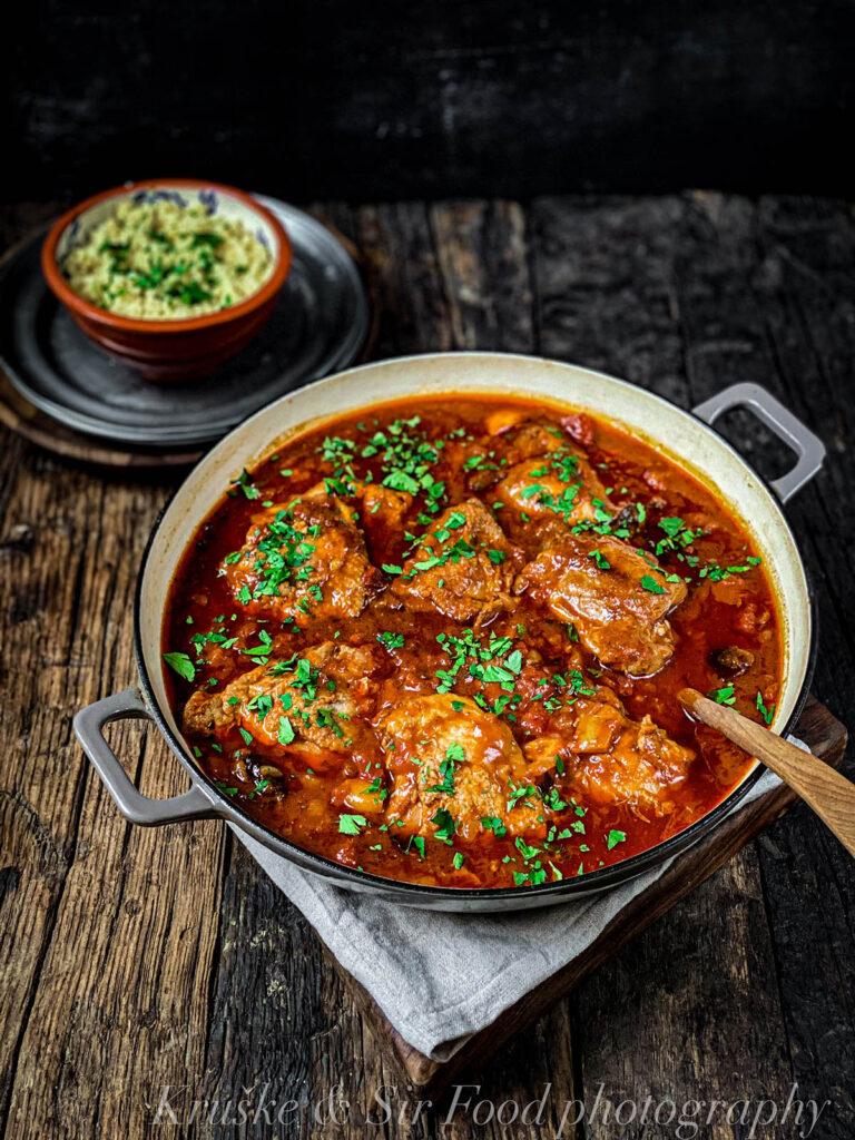 Ova marokanska piletina se slaže fantastično sa semenkama nara i kuskusom!