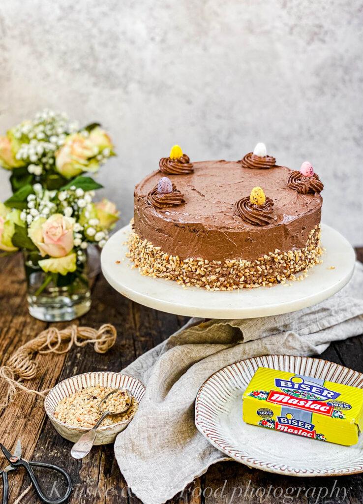 Ova torta je kremasta i divna, a ne preterano nezdrava