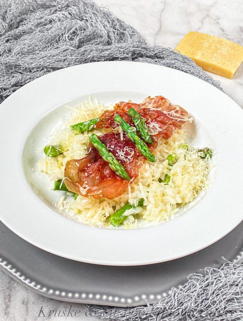 """Rižoto se može jesti i """"klot"""", ali je uvek veće uživanje servirati ga sa sezonskim sastojcima!"""