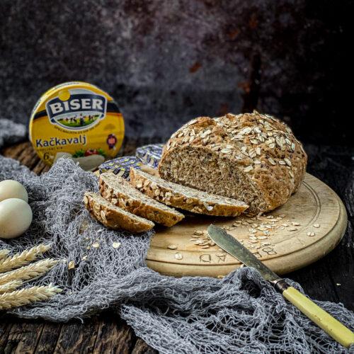 Beskvasni hleb sa speltinim brašnom